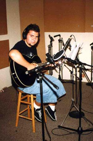 Mike Wilton on guitar