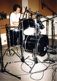 Seth on drums