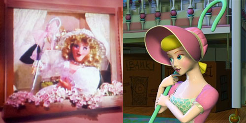 Bo Peep from The Christmas Toy and Bo Peep from Toy Story