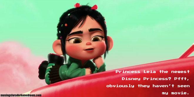 Vanellope von Schweetz Disney Princess