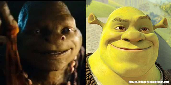 A comparison of the new TMNT and Shrek
